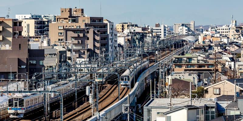 小田急沿線の街づくり