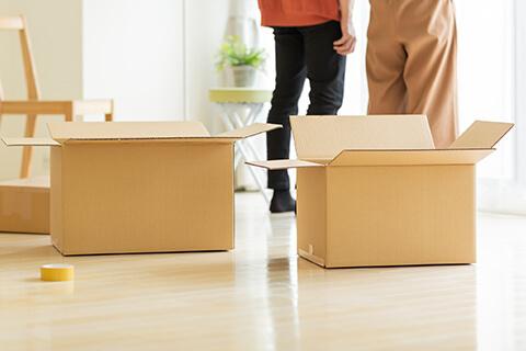 不動産購入に必要な資金新居への引越し イメージ画像