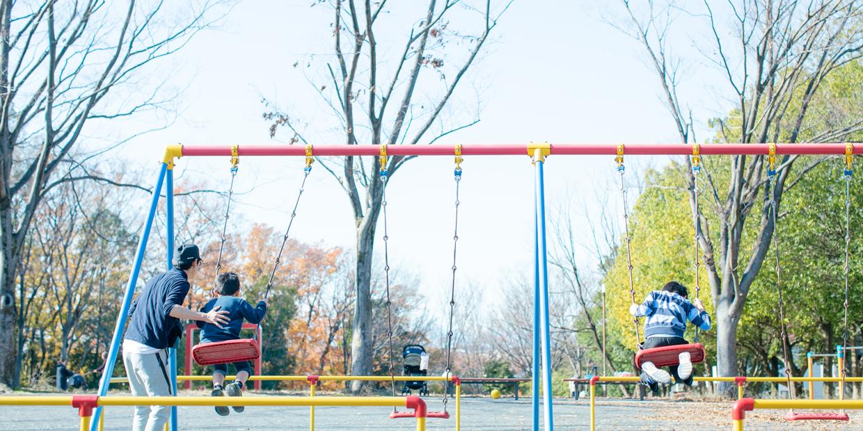 公園まで足を伸ばして、ほっと一息